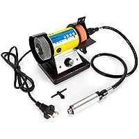 oukaning doble Amoladora Mini 280W lijadora de banco lija dispositivo pulir Máquina