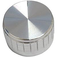AERZETIX: Botón para potenciómetro 6mm Plata C2571