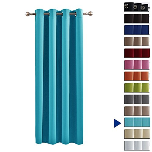 Eyelet Blackout Curtain Window Treatments   PONY DANCE Thermal Top Eyelet  Soft Solid Blackout Curtain For Living Room / Room Darkening Energy Saving,  ... Part 68