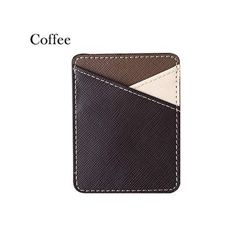 2e811dd095ef Solid Adhesive Sticker Universal Fashion Wallet Case Cellphone Pocket  Credit Card Holder ID Credit Card Holder