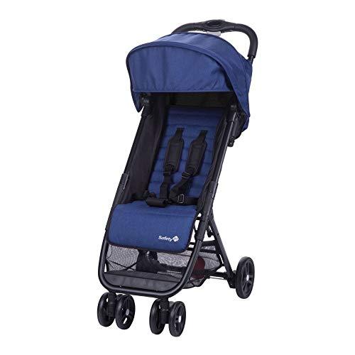 Safety 1st Poussette Canne Ultra Compacte Teeny - De la naissance à 3 ans- Baleine Blue Chic