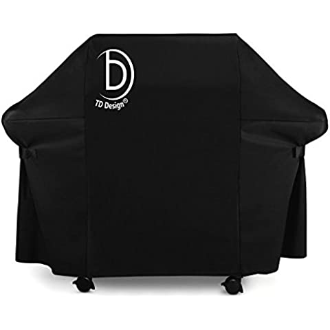 TD DESIGN, 58 cm Gas Grill Cover impermeabile resistente Covers per barbecue Weber (Genesis), Olanda, Jenn (Jenn Air Gas Grill)