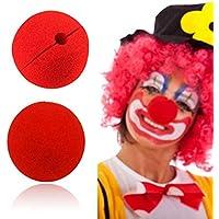 Preisvergleich für ShopSquare64 Nette Clown-Nasen-rote Schwamm-Nasen-Schwamm-Ball-rote Clown-magische Nase für Halloween-Partei-Dekorationen