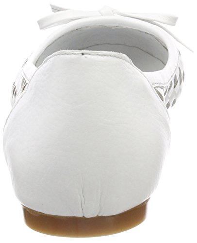 Conti Weiß Andrea 0025811 Damen Geschlossene Ballerinas Weiß ZvvgqxCdwn