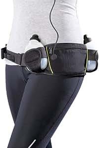 PEARL sports Trinkgürtel mit 2 Flaschen und Bauchtasche
