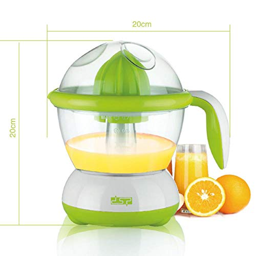 FTFSY DSP Automatic Electrical Citrus Juicer Orange Lemon Squeezer Fruit Juice Squeezer Press Reamer Machine DIY juicer Extractor,Green (Green Citrus Juicer)