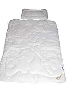 Babybär Couette et coussin pour bébé lavables à 95° 40 x 60 + 100 x 135