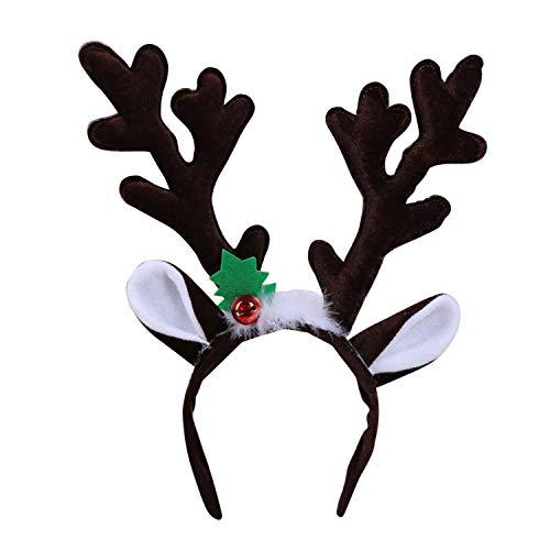 semen 1 Stück Haarreif Weihnachtsschmuck Weihnachten Motiv Festival Haarschmuck Weihnachtsbaum Weihnachtsmann Rentier Weihnachtsfeiern Zubehör Haarband (Roboter Kostüm Handschuhe)