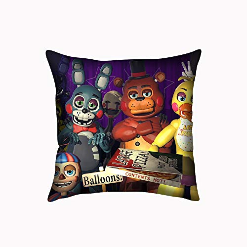 ooPIN Five Nights at Freddie Pillowcase Decorative Pillowslip Custom Cover Twin Sides