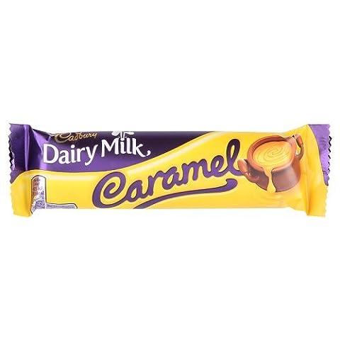 Cadbury Barre de Chocolat au Lait au Caramel 99 g