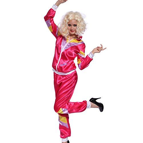ingsanzug Jogginghose Trainingshose Trainingsjacke Karneval Fasching Halloween Damen Kostuem (Halloween-kostüme Des Jahres)