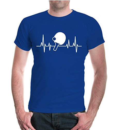 buXsbaum® T-Shirt Frequenz-Table Tennis Royal