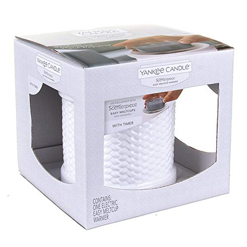 Yankee Candle Weave Scenterpiece Warmer with Timer (Scenterpiece Candle Yankee)