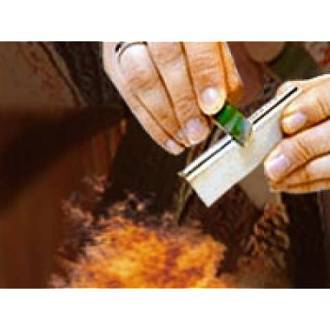 pietra da fuoco e blocco di magnesio
