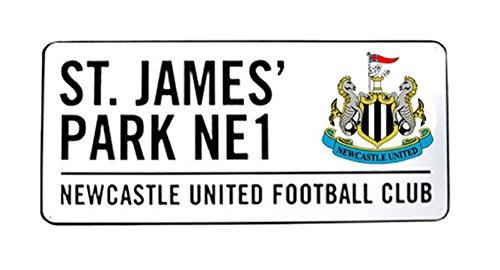 Neu Offiziell Fussball Team Metall-straßenschild (Verschiedene Teams sich wähle von - Newcastle United FC