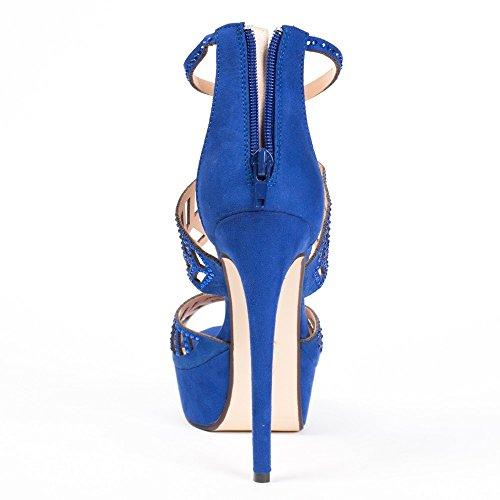 Ideal Shoes ,  Scarpe col tacco donna Blu