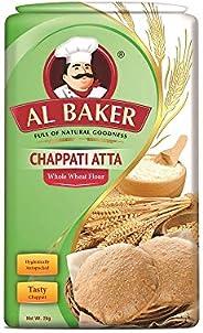 Al Baker Chappati Atta, 2 kg Bag