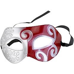 aaf035b5f363 ROSENICE Maschere di travestimento Cool uomini adulti greco romano  combattente maschera per Fancy Dress Ball sfera