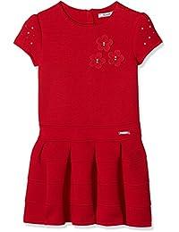 Mayoral 4931 Vestido Punto Doble Cara, Niñas, Rojo, ...