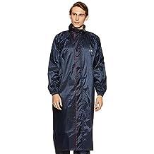 Amazon Brand - Solimo Water Resistant Polyester Long Rain Coat