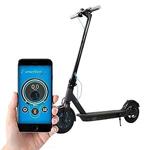 """Smartgyro Xtreme Black - Scooter Eléctrico 8,5"""" con Batería LG, color Negro"""