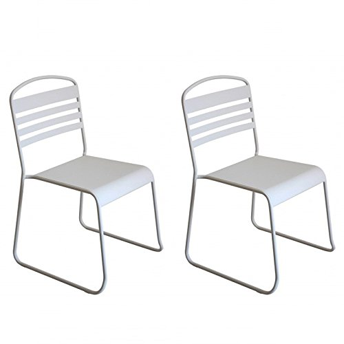 Paris Prix - Lot de 2 Chaises Design \\
