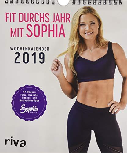 Fit durchs Jahr mit Sophia 2019 Wochenkalender por Sophia Thiel