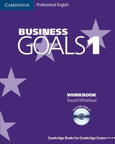 Business goals. Workbook. Per le Scuole superiori. Con CD Audio: 1