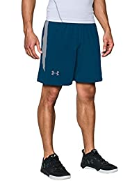 Under Armour UA RAID 8 SHORT  1257825, Pantalones Cortos Deportivos Para Hombre, Azul (Blackout Navy), XL