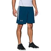 Under Armour UA RAID 8 SHORT  1257825, Pantalones Cortos Deportivos Para Hombre, Azul (Blackout Navy), M