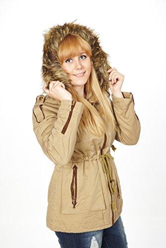 best-emilie-cappotto-parka-donna-beige-m