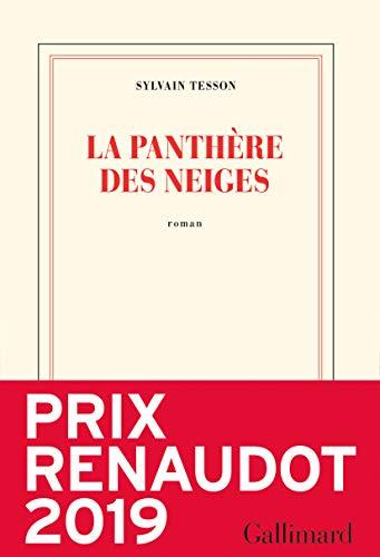 La panthère des neiges (Blanche) par Sylvain Tesson