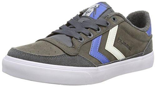 hummel STADIL OILED Unisex-Erwachsene Sneakers Grau (castle Rock)