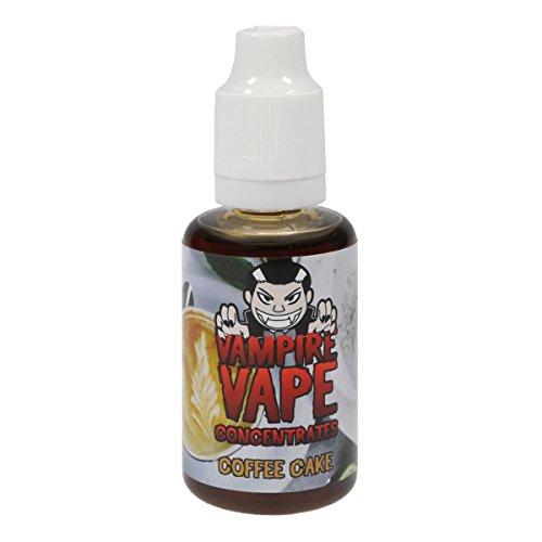 Vampire Vape Aromakonzentrat Coffee Cake zum Mischen mit Basisliquid für e-Liquid, 0.0 mg Nikotin, 30 ml