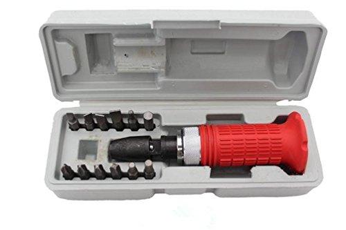 Backen Werkzeuge 1/5,1cm-Antrieb 14PC Impact Schraubendreher-Schraubsockel Treiber Werkzeug mit Bits Set