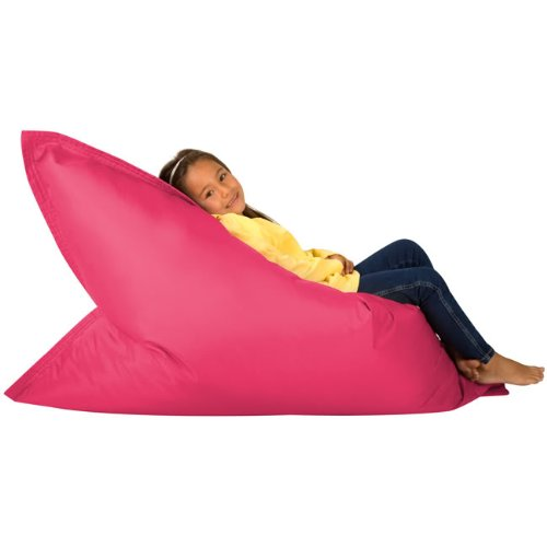 hi-bagz-kids-bean-bag-4-way-lounger-pink-bean-bags-outdoor-floor-cushion-100-water-resistant-childre