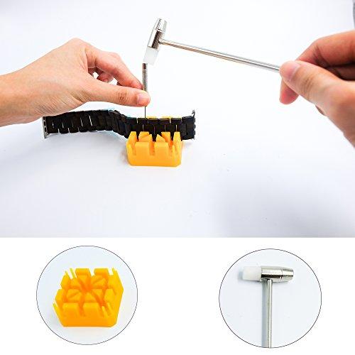 Guarda Kit riparazione, Sumgar® 5 pezzi cinturino di rimozione di collegamento Tool Set