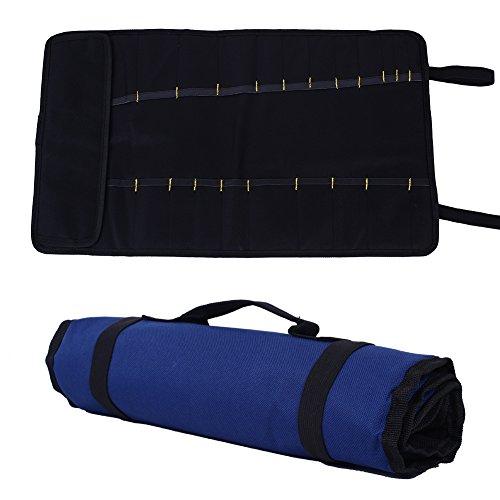 Kicode Mehrzweck-Pocket Rolling Tool Bag Heavy Duty Werkzeugträger Zum Gartengeräte, Elektriker, Tischler, Klempner und Maler - Bag Tool Rolling