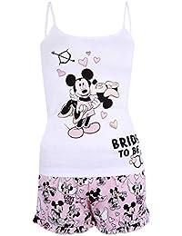 Pijama Blanco y Rosa Minnie Mouse Disney