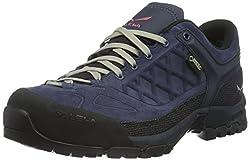 Salewa Unisex-Erwachsene TREKTAIL GORE-TEX Halbschuh Trekking- & Wanderhalbschuhe Blau (Dark Denim/Mineral Red 0356) 36 EU