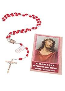 Chapelet du Précieux Sang de Jésus (Prière et Instruction)