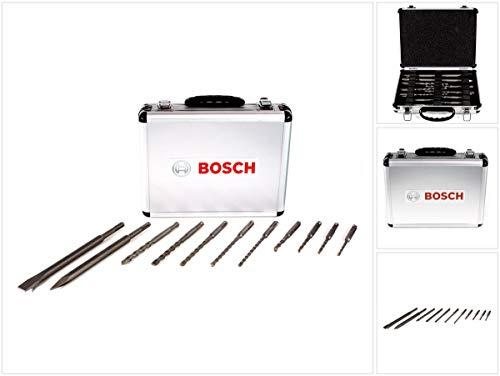 Bosch Bohrer/Meissel SET SDS-Plus (11 Teilig im Koffer)