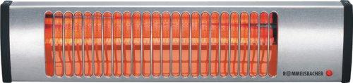 Preisvergleich Produktbild ROMMELSBACHER IW 604/E Wickeltisch-Heizstrahler (Infrarotstrahler ohne Vorheizzeit, schnell, sicher & energiesparend, wohlige Wärme im Bad, Hobbyraum, Wintergarten, etc., 600 Watt) Edelstahl