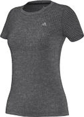 Adidas Aeroknit Womens Course à Pied T-Shirt - SS15 noir