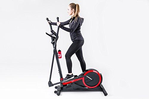 Hop-Sport Elliptical Crosstrainer HS-050C FROST Ellipsentrainer Pulsmessung Schwungmasse 9kg - 2