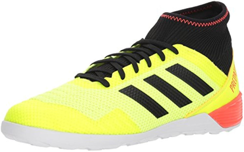 Adidas Men's Prossoator Tango 18.3 Indoor Soccer scarpe, Solar giallo nero Solar rosso, 12.5 M US | Buon design  | Uomo/Donne Scarpa