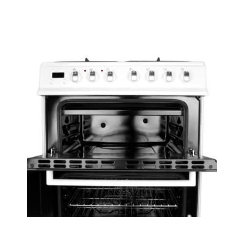 41EugRTy55L. SS500  - electriQ 60cm Dual Fuel Cooker with Double Oven in White