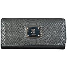 GUESS - Cartera ANGELA Largo Flap Organizador black, SWVG5068530
