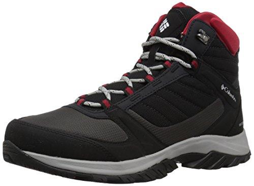 Columbia Homme Chaussures de Randonnée, Imperméable, TERREBONNE II SPORT MID OMNI-TECH, Taille 43, Noir (Black, White)