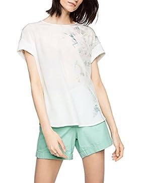 ESPRIT Collection 056EO1K020-Regular Fit - Camiseta para Mujer